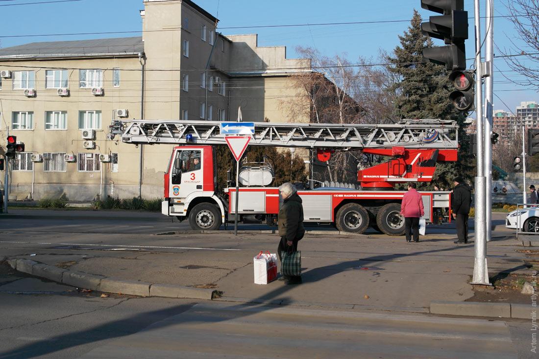 fire truck, vehicle