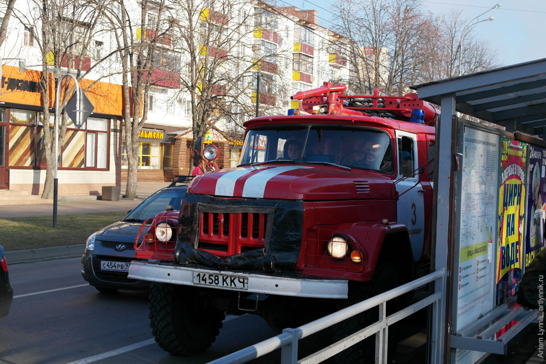fire truck, vehicle